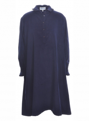 ANTHEA DRESS in Dark Navy  by Cawley