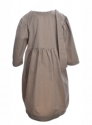 Young British Designers: MARY RED BRICK & NAVY CHECK DRESS - Last one (S) by Cawley