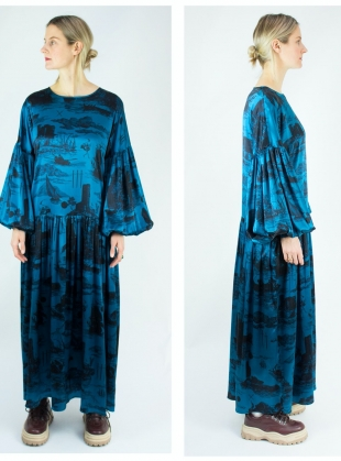 Young British Designers: DUSK DRESS. Doomed Voyage Ocean   by Klements