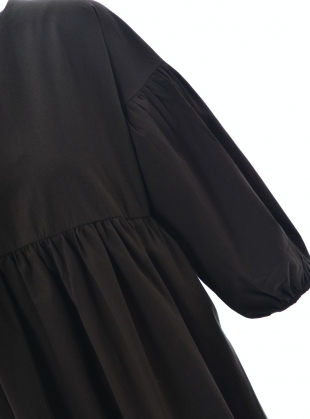 Young British Designers: MEILANI Organic Cotton DRESS. Chocolate - Last one (XS) by Beaumont Organic
