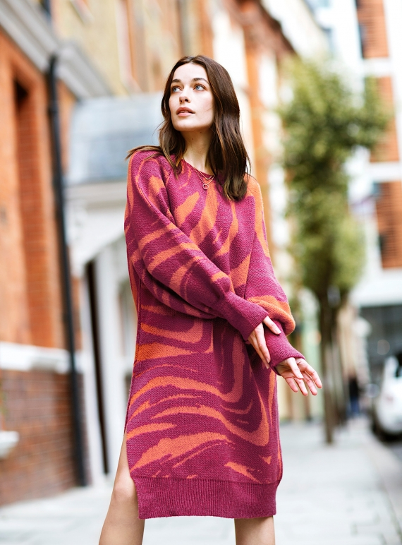 Young British Designers: WHITNEY KNIT DRESS. Berry - sold out by Cara & The Sky