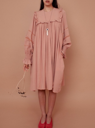 FLEUR DRESS. Blush by Meadows