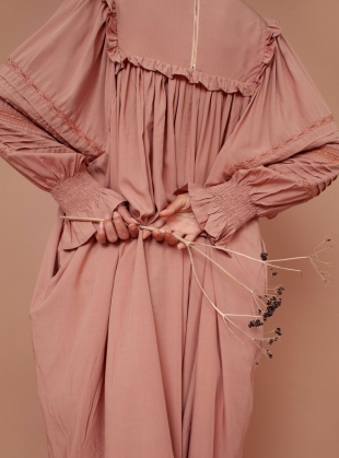 Young British Designers: FLEUR DRESS. Blush by Meadows
