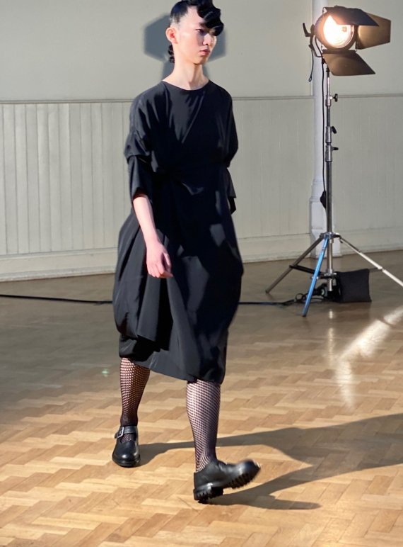Young British Designers: THE SCRUNCHY DRESS by Phoebe English