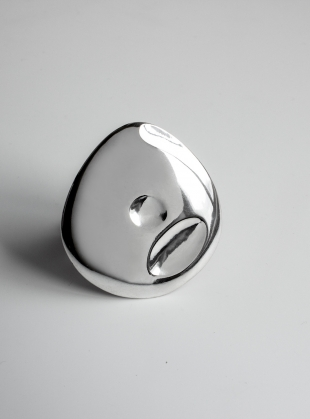 The Painter's Ring in Eco Silver by Shape of Sound