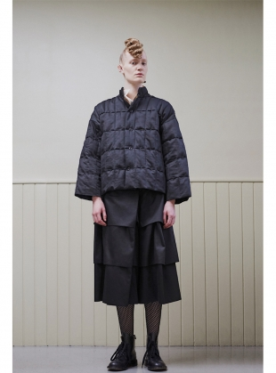 THE PUFFY QUILTED JACKET. Reclaimed Fabric by Phoebe English