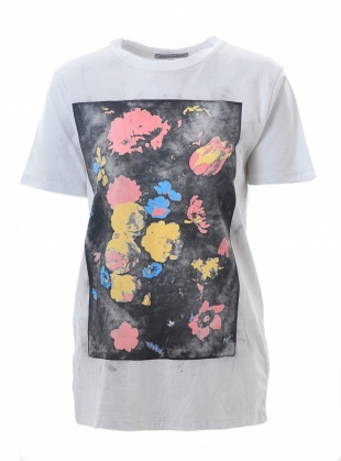 T-SHIRT. Flower Wash by Simeon Farrar