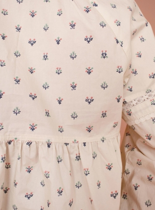 Young British Designers: ABELIA SHIRT. Winter Ditsy by Meadows