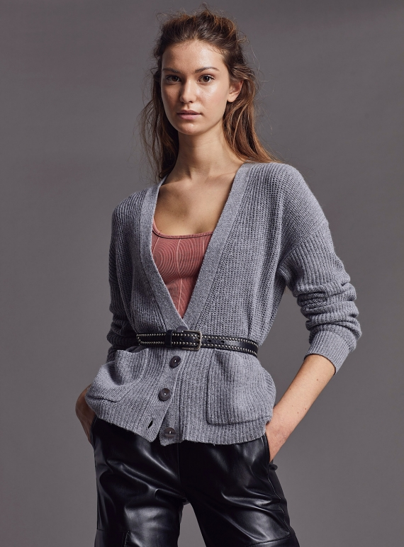 Young British Designers: LIZZY CARDIGAN. Fulmar by LAM Clothing