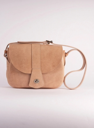 Young British Designers: Dusty Pink TREGOOSE BAG by Kate Sheridan