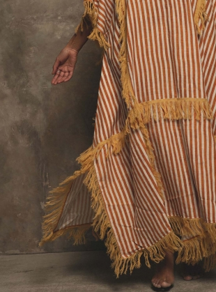 Young British Designers: CREATION KAFTAN. Stripe  by A Perfect Nomad