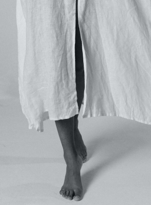 Young British Designers: LET THERE BE PEACE KAFTAN. White by A Perfect Nomad