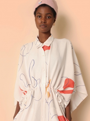 Young British Designers: HARRIS DRESS. Willow Print by LF Markey