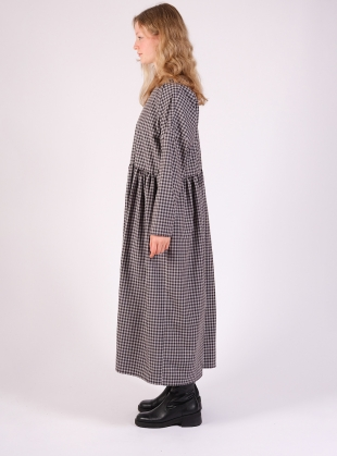 Young British Designers: FLOW DRESS. Blue Gingham by Kate Sheridan