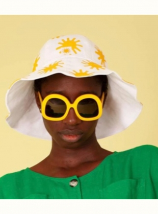 Young British Designers: Printed Sun Hat by LF Markey