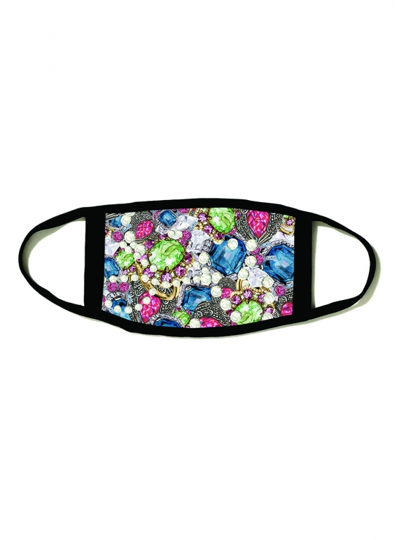 PRINTED JEWEL Barrier Mask by PRINTED JEWEL Barrier Mask