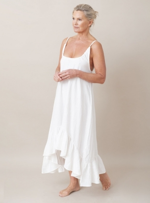 Young British Designers: BELMIRA ORGANIC COTTON GOWN  by Beaumont Organic