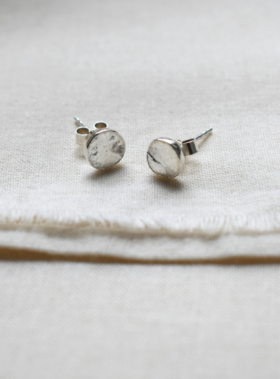 Young British Designers: Little Rustic Studs by Hannah Faye Jewellery