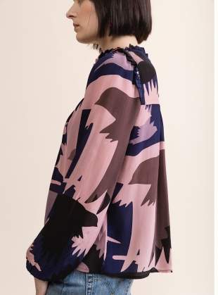 Young British Designers: SUSIE BLOUSE. Honeyguide.  by Tallulah & Hope