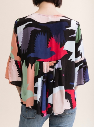 Young British Designers: FIFI TOP. Honeyguide  by Tallulah & Hope