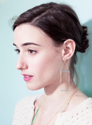 Day Drop Earrings by Joanna Cave