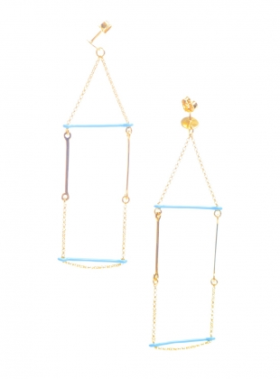 Young British Designers: Day Drop Earrings by Joanna Cave