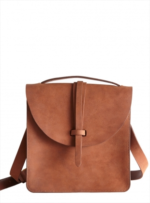 PRUSSIA Satchel in Cocoa by M.Hulot