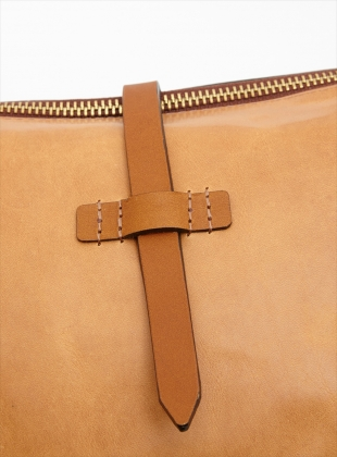 Young British Designers: BUD Crossbody Bag in Natural by M.Hulot