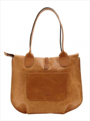 SOAMES Tote in Natural with Tan by M.Hulot