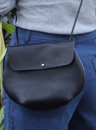 MARGOT Cross Body Bag in Black by Weald Handmade