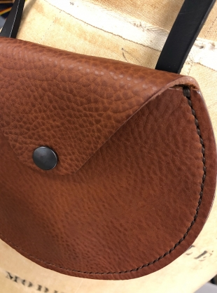 AVA Cross Body Pouch in Tan by Weald Handmade