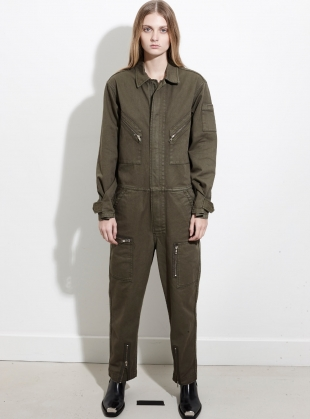 Army Utility All in One Boilersuit by REMAIN STUDIO