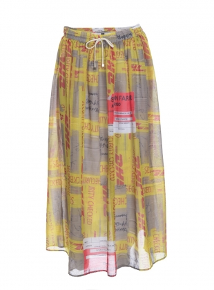 DHL MAXI SKIRT - last one by Simeon Farrar