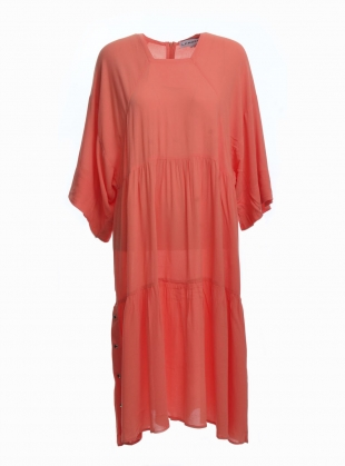 Young British Designers: RICHARD DRESS IN CORAL by LF Markey