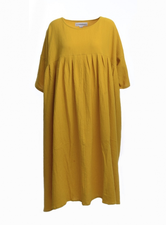 THE MEGA DRESS IN MUSTARD - Last one by LF Markey