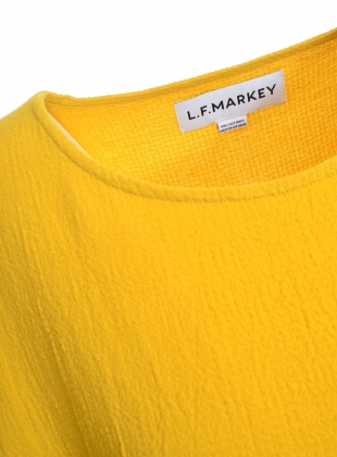 Young British Designers: THE MEGA DRESS IN MUSTARD - Last one by LF Markey