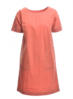 Young British Designers: Kimono Dress in Umber by Folk