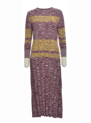 GEMMA Cotton Knit Long Dress- last one by Belize
