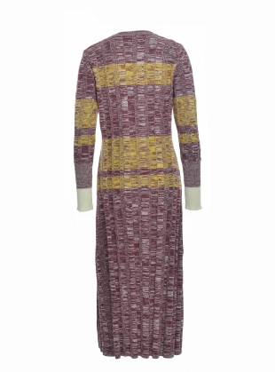 Young British Designers: GEMMA Cotton Knit Long Dress- last one by Belize