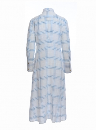 Young British Designers: SILAS Cotton Shirt Dress  by Belize