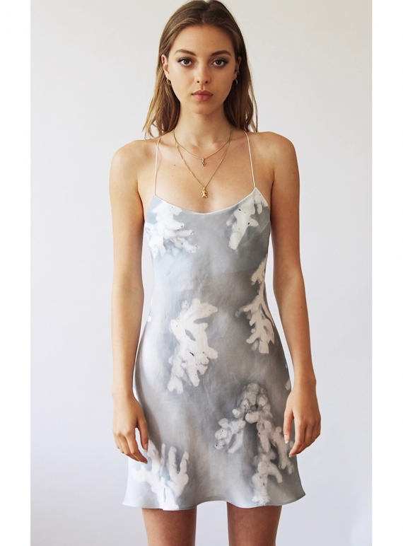 Young British Designers: SISSY BIAS SILK SLIP DRESS - last one by Florence Bridge