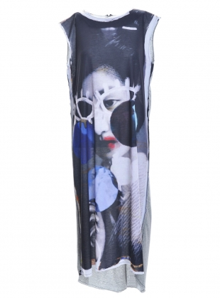 FUKUSHIMA Dress Print No.2 - last one by IA London