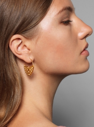 RAMONA Gold Earrings - last pair by Joanna Cave