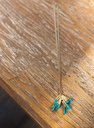Young British Designers: SYLVIE Mini Pendant Necklace by Oddical