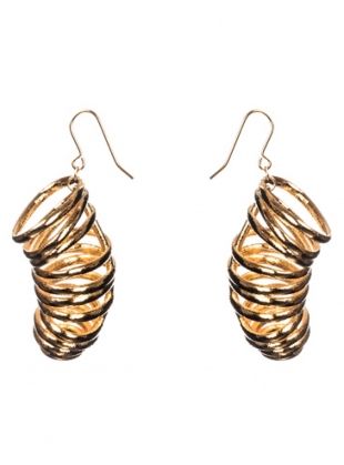 Young British Designers: FLOSSIE Drop Earrings by Oddical