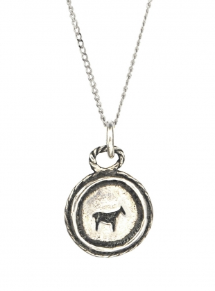 Young British Designers: BAU ANIMAL NECKLACE in Recycled Sterling Silver by BOODI Jewellery