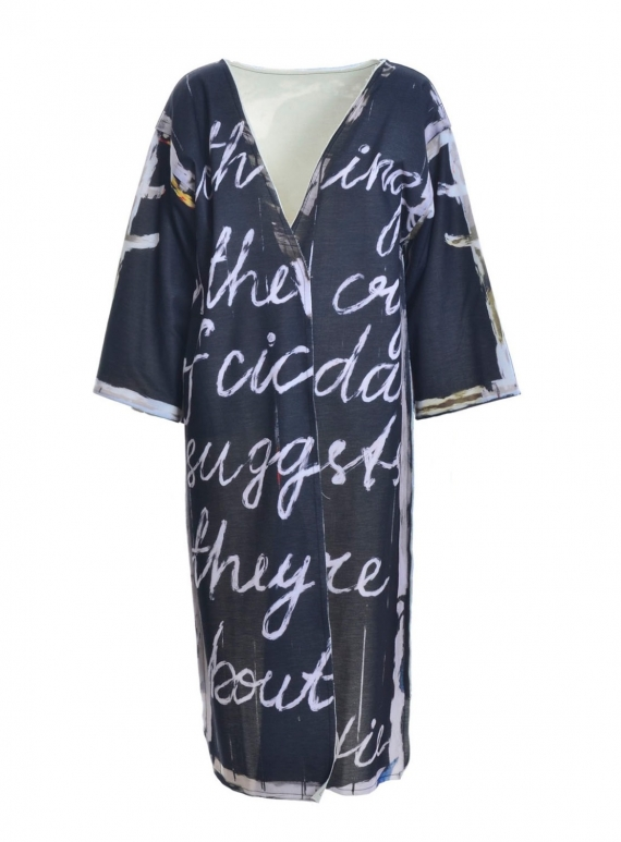 Young British Designers: Fukushima Longer Haori Jacket by IA London