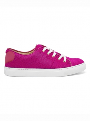 HOT PINK SWEETHEART SNEAKERS - last pair 36 by Rogue Matilda