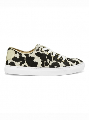 COW PRINT SWEETHEART SNEAKERS - last pair (37) by Rogue Matilda