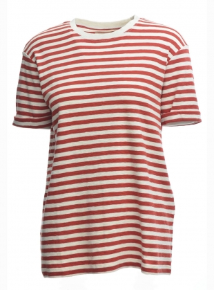 Classic Striped Boyfriend Tee - Last one by Folk